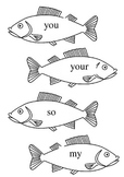 Jolly Phonics Tricky Words Fishing Game