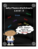 Jolly Phonics Worksheets - Level 2