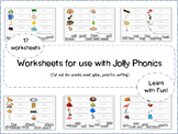 Jolly Phonics Worksheets ( reading and writing can be fun!)