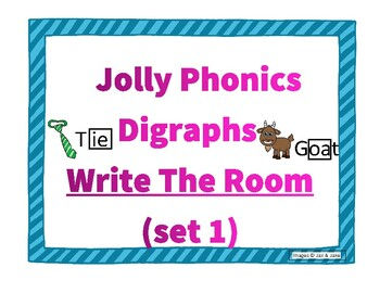 Jolly Phonics Write the Room Digraphs