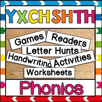 Phonics Y X CH SH TH TH