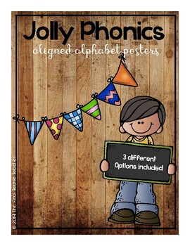 Jolly Phonics aligned Alphabet Posters