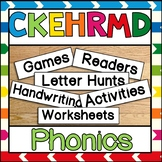 PHONICS c k e h r m d Activity Pack