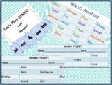Jolly Phonics diagraphs- RCs and BINGO tickets