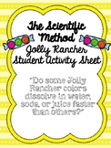 Jolly Rancher Scientific Method Activity