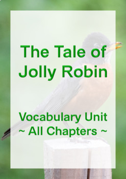 Jolly Robin Vocabulary - All Chapters