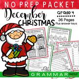 Jolly Santa Christmas Packet (Fourth Grade)