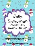 Jolly Snowmen Addition