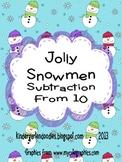 Jolly Snowmen Subtraction