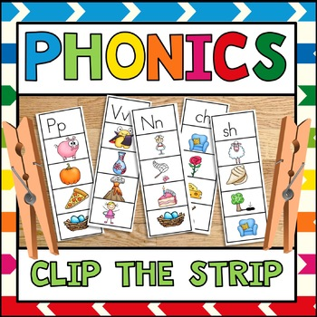 Phonics Clip the Strip
