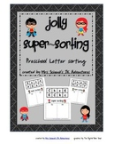 Jolly Super Sorting (Preschool Letter Sort)