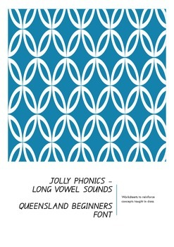 Jolly phonics - long vowel sound worksheets