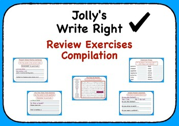 Jolly's Write Right - Review Exercises Compilation