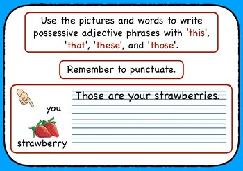 Jolly's Write Right - Writing Possessive Adjectives