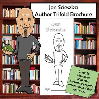 Jon Scieszka Biography Trifold Brochure