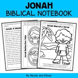Jonah Interacitve Notebook Bible Unit