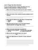 Jonah: A Veggie Tales Movie Worksheet