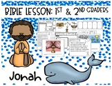 Jonah Bible Lesson (1st/2nd grade Series)