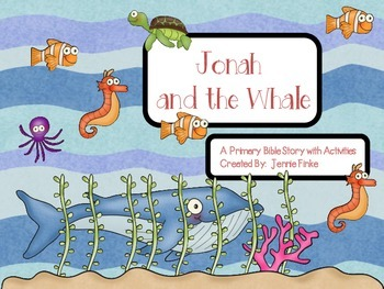 Jonah and The Whale Activities