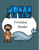 Jonah and the Whale Printable Reader