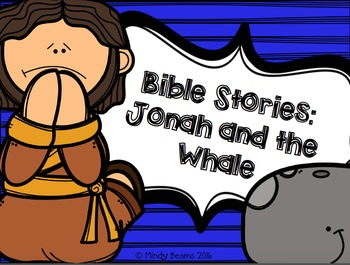 Jonah and the Whale Activity Pack