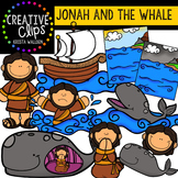 Jonah and the Whale {Creative Clips Digital Clipart}