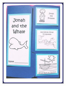 Jonah and the Whale Lapbook Project