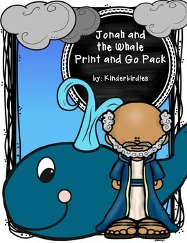 Jonah and the Whale Print and Go Pack