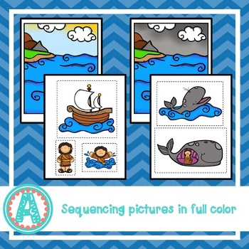 Jonah and the Whale Story and Sequencing