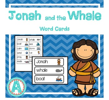 Jonah and the Whale Word Cards