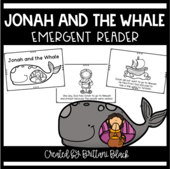 Jonah and the Whale emergent reader