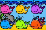 Jonah and the whale color match game for preschoolers