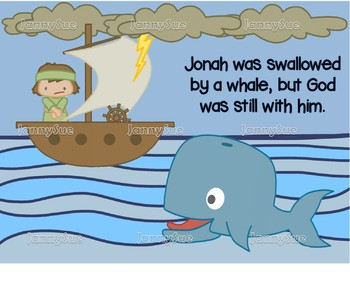 Jonah In The Boat With Whale Craft Bible Story Craft By Jannysue