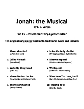 Jonah: the Messianic Musical
