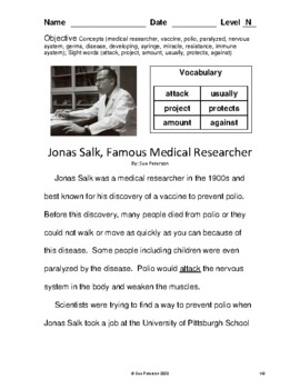 Jonas Salk - Famous Medical Researcher