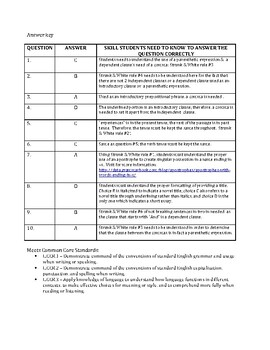 Jonathan Edwards ACT English Practice Questions