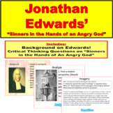 Jonathan Edwards, Sinners in the Hands of an Angry God, Background, Questions