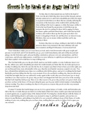 """Jonathan Edwards - """"Sinners in the Hands of an Angry God"""""""