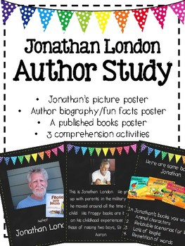 Jonathan London Author Study: Froggy Books
