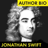 Jonathan Swift Author Study Worksheet, Biography Activity, PDF & Google Drive