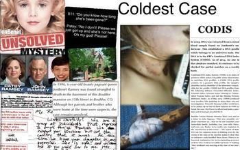 JonBenet Ramsey - Cold Case Murder - CODIS - FREE POSTER