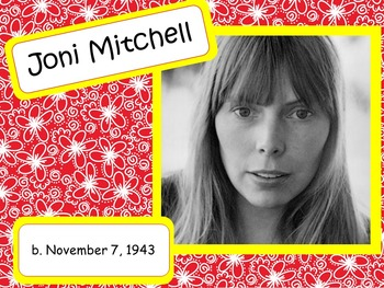 Joni Mitchell: Musician in the Spotlight