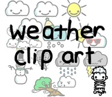 Jonny Crayon's Weather Clip Art Collection