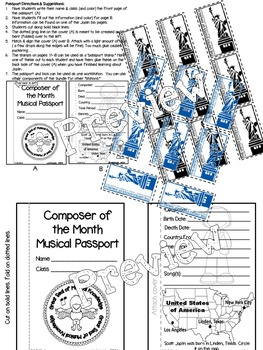 Joplin Passport (Composer of the Month)