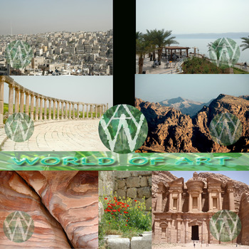 Jordan:  Amman, Dead Sea, Jerash, & Petra