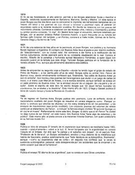 Jorge Luis Borges-Study Guide