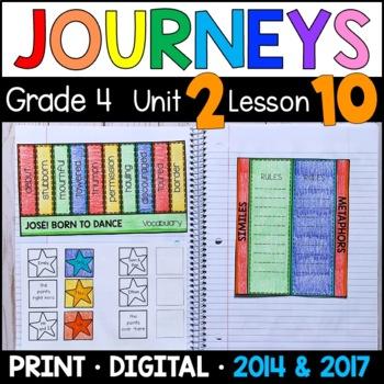 Journeys 4th Grade Lesson 10: José! Born to Dance (Supplem