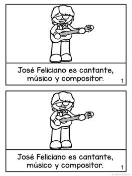 José Feliciano & Rita Moreno Readers {Hispanic Heritage Month} Bilingual version