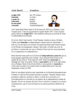 José Martí Biografía - Spanish Biography on Jose Marti and Cuban Independence