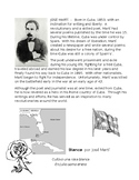 Jose Marti - Rosa Blanca Poem, Birography and Rubric
